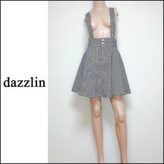 ダズリン(dazzlin)のdazzlin サスペンダー付き フレアスカート*ジルスチュアート snidel(ミニスカート)