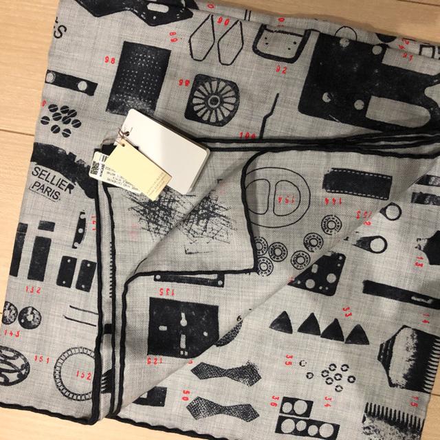 未使用 正規品 エルメス カシミアシルク 140 ショール レディースのファッション小物(マフラー/ショール)の商品写真