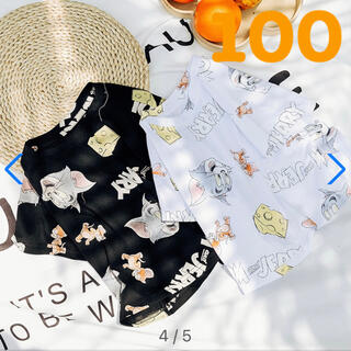 babyGAP - トムジェリー 総柄 Tシャツ 半袖 100