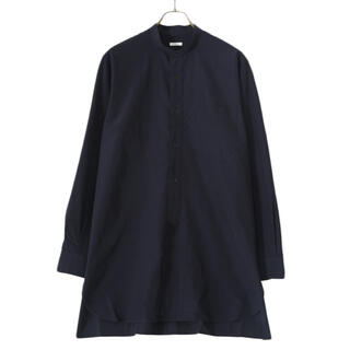 COMOLI - comoli バンドカラーシャツ