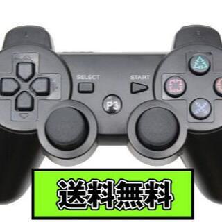 PS3 コントローラー ブラック Black 黒色 Bluetooth 互換品(その他)