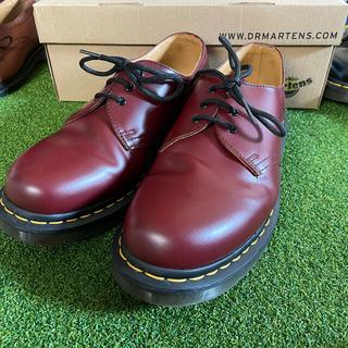 ドクターマーチン(Dr.Martens)の【美品】ドクターマーチン1461 チェリーレッド サイズUK7(ブーツ)