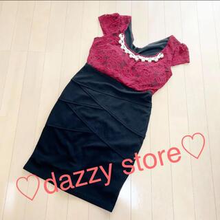 デイジーストア(dazzy store)のキャバ / フォーマル / ミニドレス(ミニドレス)