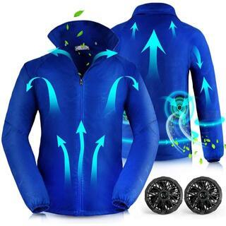 Yoyome  XL 空調服 空調ウェア 作業服 エアコン服 薄手 扇風服