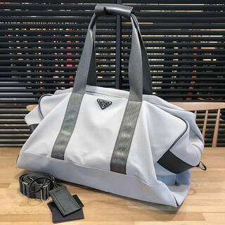 PRADA - 超美品 プラダ ナイロン ボストンバッグ 旅行バッグ グレー V70S