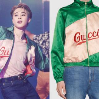 グッチ(Gucci)のGUCCI BTS ジミン着用 スクリプト ジャケット グッチ(ブルゾン)