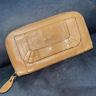 クロエ(Chloe)のChloe クロエ パラティ ラウンドファスナー 長財布(財布)