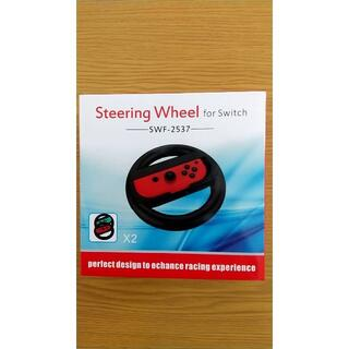 Steering Wheel for Switch SWF-2537 ブラック(その他)