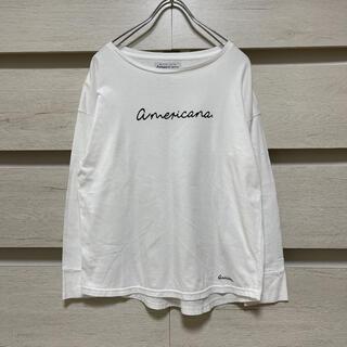 アメリカーナ(AMERICANA)のAmericana アメリカーナ ロンT(Tシャツ(長袖/七分))