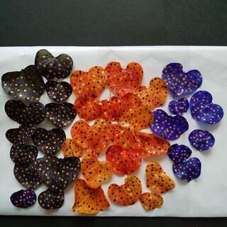 ハートリーフ 30枚 ハロウィーンカラー C ハーバリウム花材ドライフラワー(ドライフラワー)