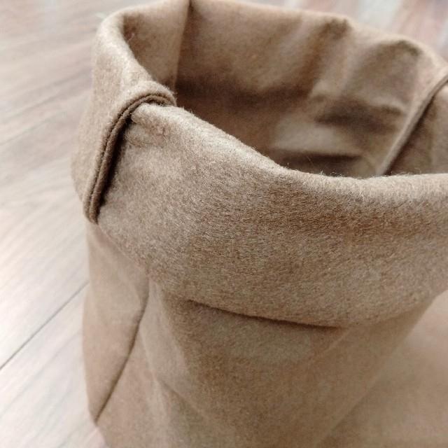 ハンドメイド♡フェルトプランター♡黒とブラウン 4枚セット♡植木鉢 鉢カバー ハンドメイドのフラワー/ガーデン(プランター)の商品写真