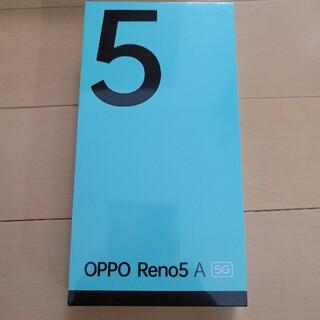 OPPO - OPPO Reno5A アイスブルー ワイモバイル版 56974