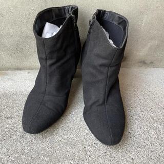 エスペランサ(ESPERANZA)のショートブーツ 黒(ブーツ)