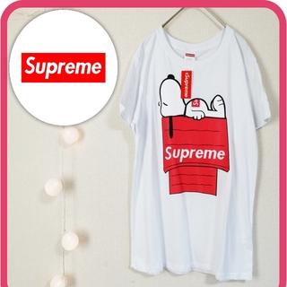 Supreme - 新品未使用 シュプリーム Supreme Tシャツ スヌーピー コットン100%