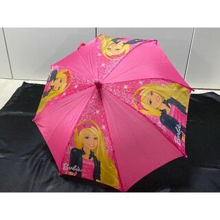 バービー(Barbie)のBarbieバービーちゃん傘♡海外購入幼児用かさ40cmピンク幼稚園女の子子供用(傘)