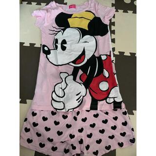 Disney - Disney限定!美品◡̈⃝♡ミニーちゃん ルームウェア