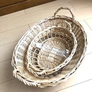 ムジルシリョウヒン(MUJI (無印良品))のかご 2個セット(バスケット/かご)