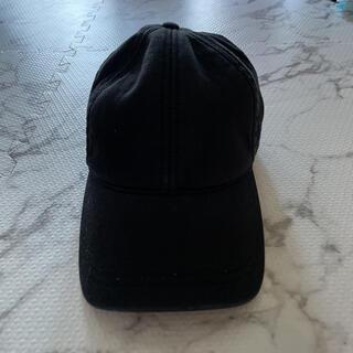 ザラ(ZARA)のZARA ザラ キャップ 帽子 黒 ブラック Mサイズ(キャップ)