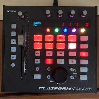 Icon Platform Nano【ケーブル・箱付き】(MIDIコントローラー)