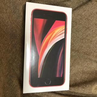 Apple - iPhone SE2(赤、64GB、docomo一括購入、simフリー)
