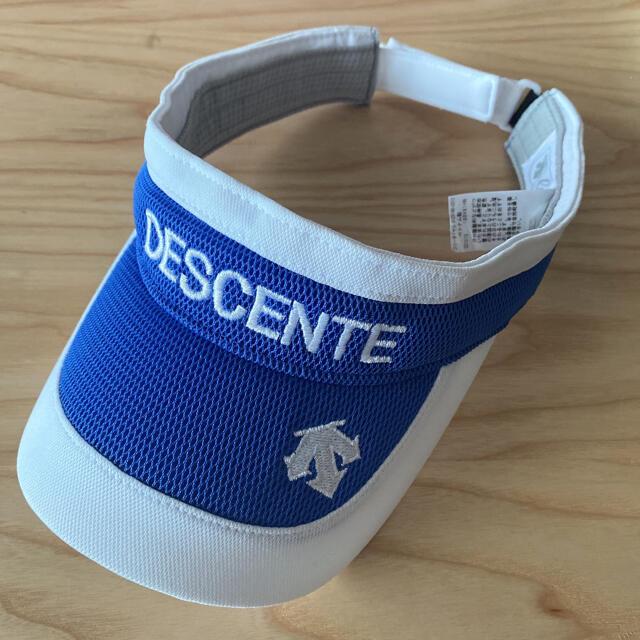DESCENTE(デサント)のDESCENTE golf レディース ゴルフ サンバイザー スポーツ/アウトドアのゴルフ(その他)の商品写真