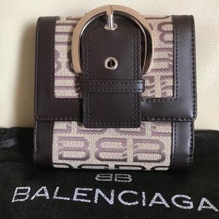 バレンシアガ(Balenciaga)のバレンシアガBB柄財布‼️(良品)(折り財布)