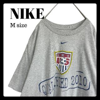 ナイキ(NIKE)のナイキ NIKE 半袖 Tシャツ オーバーサイズ グレー サッカー(Tシャツ/カットソー(半袖/袖なし))