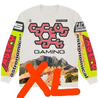 カクタス(CACTUS)の【XL】Travis Scott Cj Gaming I Jersey (Tシャツ/カットソー(七分/長袖))