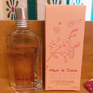 ロクシタン(L'OCCITANE)のロクシタン チェリーブロッサムオードトワレ(香水(女性用))