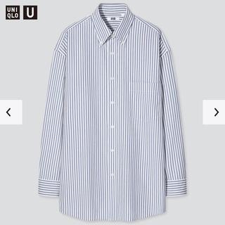 UNIQLO - uniqlo u ワイドフィットストライプシャツ