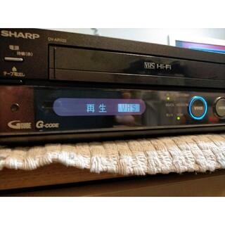 シャープ(SHARP)のシャープVHSシリーズDV-ARV22【HDMIケーブル付】(DVDレコーダー)