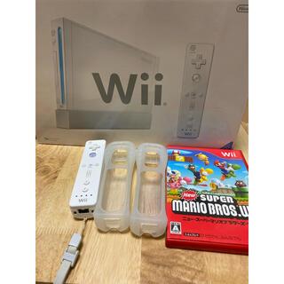 Wii - 任天堂 Wii 本体 スーパーマリオ セット