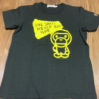 アベイシングエイプ(A BATHING APE)のエイプ Tシャツ XSサイズ(Tシャツ(半袖/袖なし))