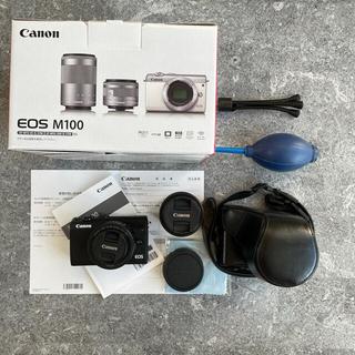 Canon - キャノン カメラ Canon EOS M100 レンズキット ブラック