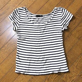 イング(INGNI)のイング  ボーダー Tシャツ(Tシャツ(半袖/袖なし))