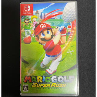 Nintendo Switch - マリオゴルフ スーパーラッシュ Switch 開封のみ