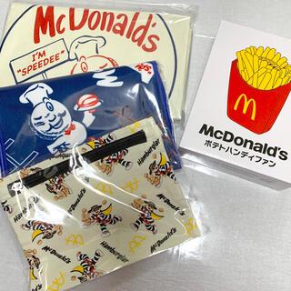 マクドナルド(マクドナルド)のマクドナルド ビッグスマイルバッグ(キャラクターグッズ)