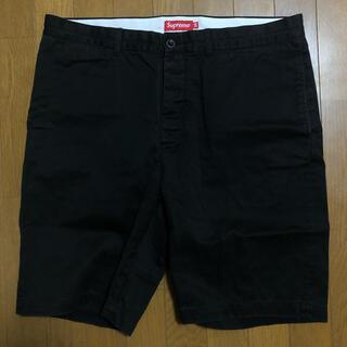 シュプリーム(Supreme)のSupreme Work Short black cargo  36サイズ XL(ショートパンツ)