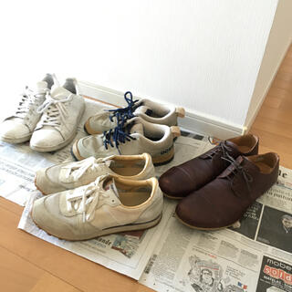 adidas - スニーカー 、レザーシューズ 4点セット