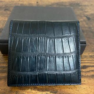 GANZO - 万双クロコダイルミニ財布