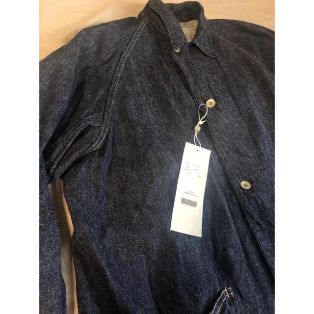 COMOLI(コモリ)の【新品未使用】21AW COMOLI (コモリ) デニム ワークジャケット メンズのジャケット/アウター(カバーオール)の商品写真