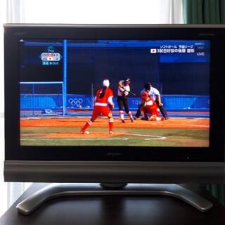 シャープ(SHARP)の風神雷神さま 専用 AQUOS テレビ32型 LD-32SP1(テレビ)
