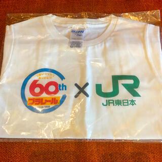 タカラトミー(Takara Tomy)の新品🌺送料込み💐プラレール  60周年記念TシャツJR コラボ100サイズ(Tシャツ/カットソー)