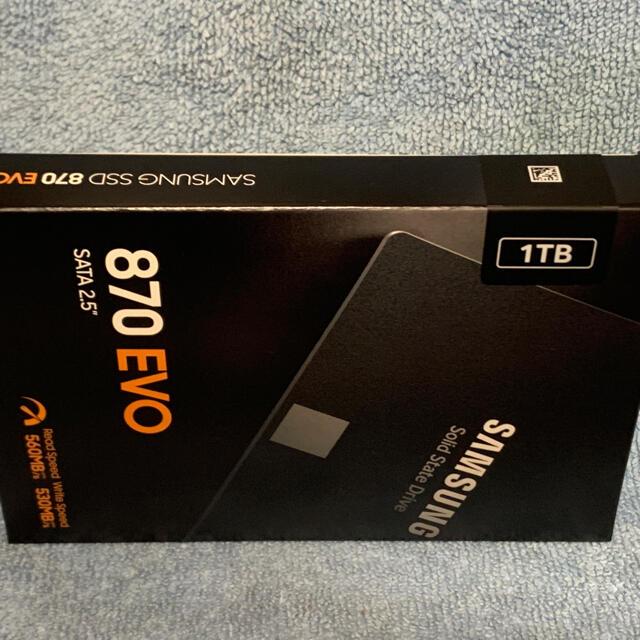 SAMSUNG(サムスン)のSamsung SSD   870 EVO 1TB SATA 2.5インチ スマホ/家電/カメラのPC/タブレット(PCパーツ)の商品写真