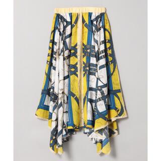 JEANASIS - スカーフアシメスカート