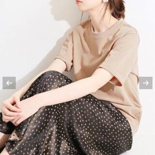 イエナ(IENA)のIENA LA BOUCLE♡コットンツイスト バイオTシャツ(Tシャツ(半袖/袖なし))