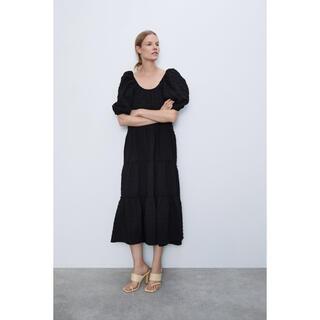 ZARA - zara textured weave dress