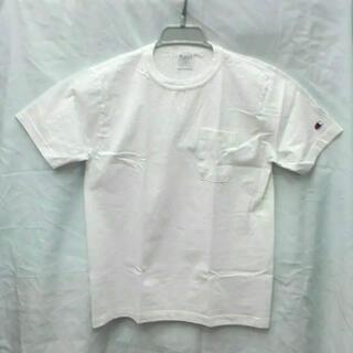 Champion - チャンピオン T011 ポケット付きTシャツ Sサイズ ホワイト