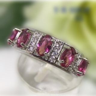 アトリエボズ(ATELIER BOZ)の赤の女王ガーネットのリング【2064】(リング(指輪))