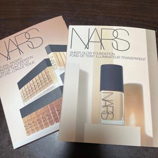 ナーズ(NARS)のNARS ファンデーション 2種 サンプル(サンプル/トライアルキット)